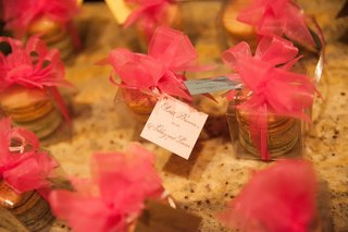 pink-ribbon-bows-on-boxes-of-french-macaron-wedding-favors
