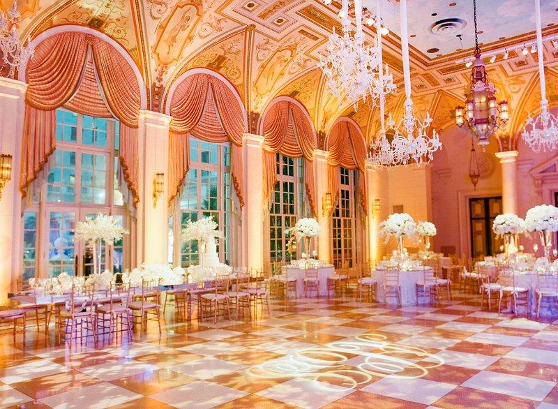 Elegant Ballroom Reception Space