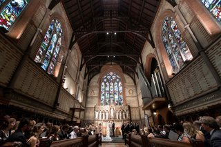 wedding-ceremony-church-of-the-good-shepherd-high-line-hotel-new-york-stained-glass-windows-vaulted