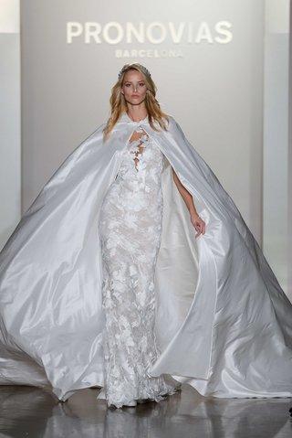pronovias-2017-niebla-form-sitting-lace-embroidery-v-neckline-flowing-bridal-cape-wedding-dress
