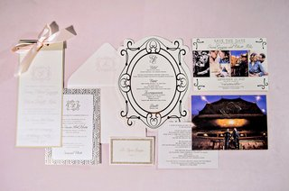 wedding-invitation-suite-paper-goods-save-the-date-menu-invitation-ceremony-program-escort-card-gold