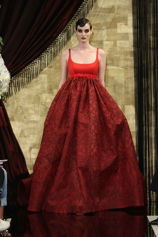 asta-red-wedding-dress-ball-gown-with-black-lace-embroidery-by-theia