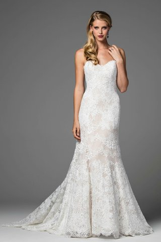 watters-2017-bridal-collection-velma-strapless-lace-wedding-dress-fit-and-flare-sweetheart-neckline