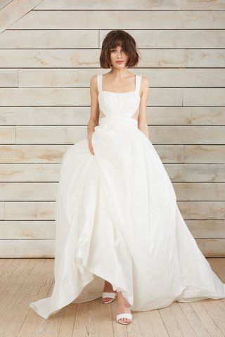 cris-by-nouvelle-amsale-spring-2018-taffeta-ball-gown-wide-straps-sheer-side-panel-pockets