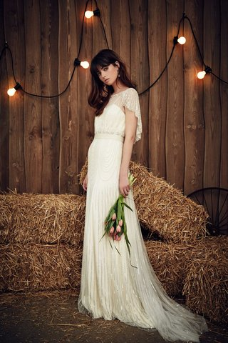 jenny-packham-2017-bridal-collection-dolly-sheath-wedding-dress-beaded-skirt-sheer-neckline-sleeves