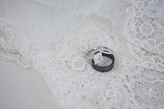 black-diamond-wedding-band-and-princess-cut-diamond
