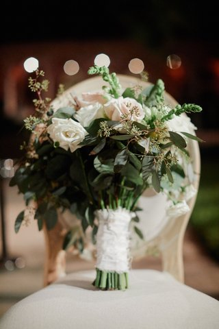 bridal-bouquet-with-heavy-greenery-blush-and-white-roses