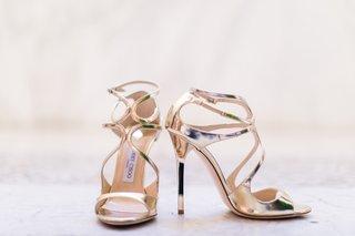 seattle-mariners-marc-rzepczynskis-wedding-gold-jimmy-choo-wedding-bridal-heels