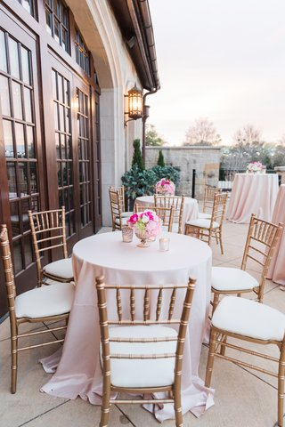 gold-chiavari-chairs-blush-linens-alfresco-cocktail-hour-on
