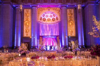 mellon-auditorium-wedding-reception-with-purple-lighting