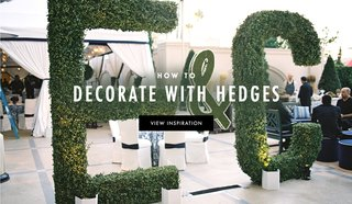 how-to-use-greenery-and-hedges-in-your-wedding-decorations