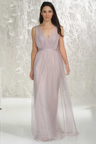 wtoo-bridesmaids-2016-light-purple-v-neck-long-bridesmaid-dress