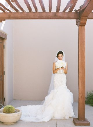adrianna-costa-wearing-lazaro-lace-and-organza-wedding-dress