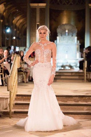 idan-cohen-fall-winter-2018-empire-of-love-wedding-dress-illusion-long-sleeve-bridal-gown-sheer