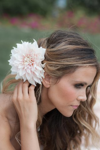 katrina-hodgson-tone-it-up-with-pink-flower-in-wedding-hair