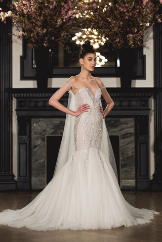 ines-di-santo-spring-2019-bridal-collection-wedding-dress-mia-illusion-cap-sleeve-trumpet-mermaid