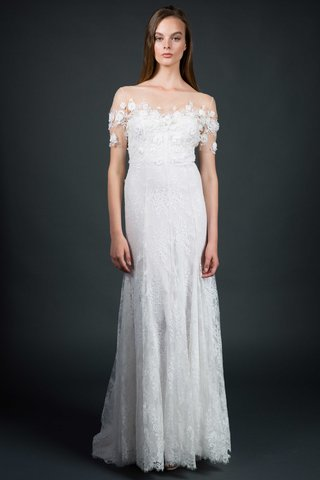 sarah-janks-fall-2016-wedding-dress-with-flower-appliques-at-neckline-and-illusion-sleeves