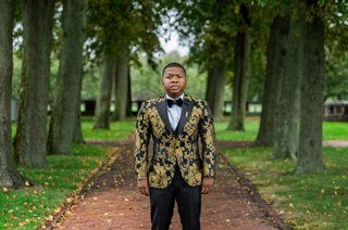 groom-in-cabarat-vintage-suit-jacket-with-gold-print