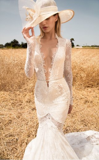 gala-by-galia-lahav-gala-collection-no-2-wedding-dress-lace-plunging-neckline-long-sleeve-sheer-cut