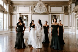 may-queen-inc-bridesmaid-gowns-black-off-the-shoulder-dresses-zena-foster-wedding