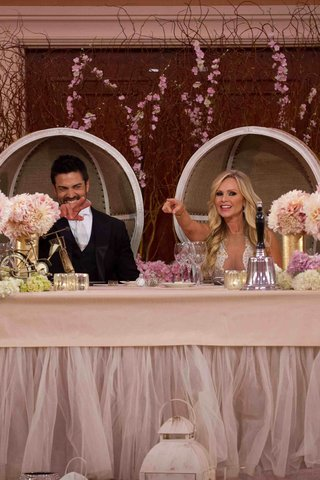 tamra-barney-and-eddie-judge-in-dome-chairs-at-reception