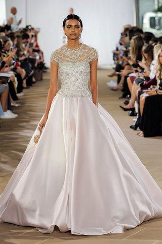 ines-di-santo-fall-2019-bridal-collection-wedding-dress-celeste-ball-gown-with-pockets-blush-silk
