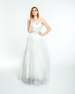 olia-zavozina-fall-2017-bridal-collection-katya-strapless-wedding-dress-ball-gown-sweetheart-neck