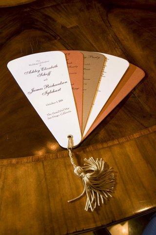 shimmering-wedding-ceremony-fans-favors