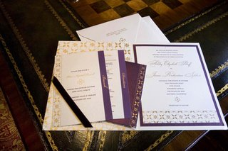 purple-and-gold-wedding-invites-and-envelope