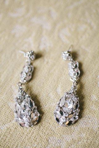 crusted-crystal-and-diamond-teardrop-bridal-earrings