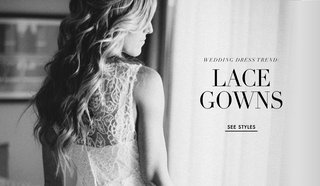 black-and-white-photo-of-real-brides-wearing-lace-wedding-dresses