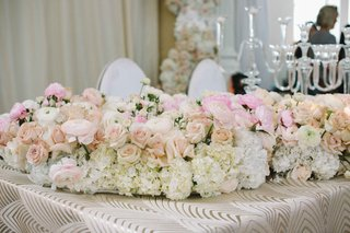 floral-wedding-table-runner-with-peach-and-pink-roses-hydrangea-peony-ranunculuses