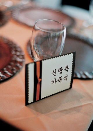 wedding-reception-table-number-in-korean