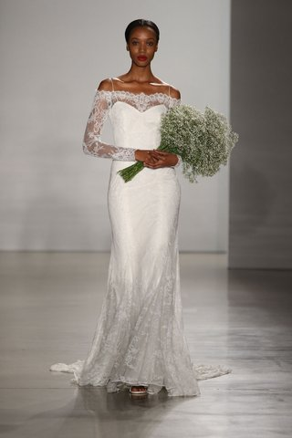 christos-fall-2016-off-the-shoulder-long-sleeve-lace-wedding-dress
