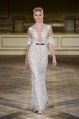 berta-fall-winter-2016-unique-wedding-dress-with-flutter-sleeves