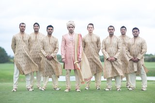 indian-american-groom-in-sherwani-groomsmen-in-traditional-outfits