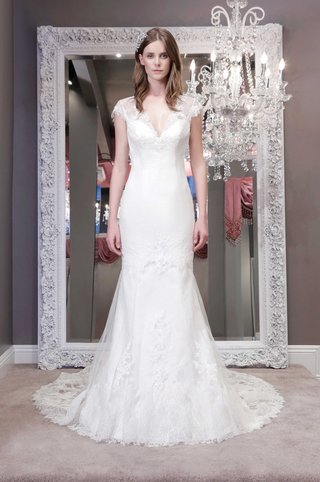 winnie-chlomin-2016-wedding-dress-with-sheer-lace-cap-sleeves-and-train