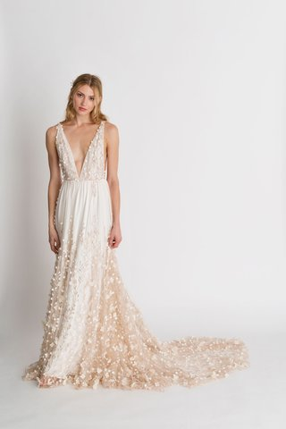 alexandra-grecco-fall-winter-2018-the-magic-hour-wedding-dress-iris-v-neck-bridal-gown-flowers