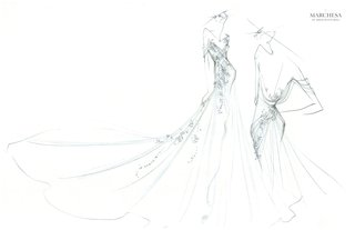 marchesa-bridal-capsule-collection-for-st-regis-punta-mita-wedding-dress-sketch