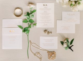 gold-embossed-invitation-suite-with-modern-monogram