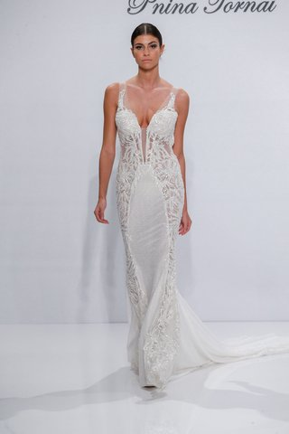 pnina-tornai-for-kleinfeld-2017-dimensions-collection-beaded-wedding-dress-embroidery-on-sides
