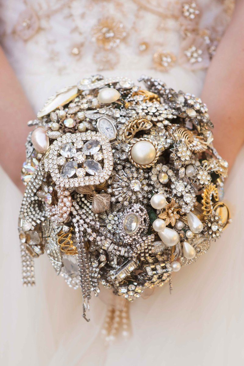 Bouquet of Antique Jewels & Family Heirlooms