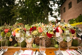 rustic-farm-centerpiece-for-wedding-shower-with-fall-colors