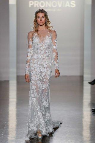 pronovias-2017-nerva-illusion-sheath-long-sleeves-lace-tulle-embroidery-v-neck-wedding-dress