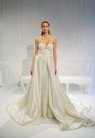 le-secret-royal-bridal-collection-galia-lahav-strapless-corset-wedding-dress-with-silk-overskirt