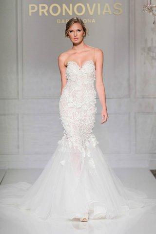 pronovias-2016-mermaid-wedding-dress-with-illusion-neckline-and-embroidery