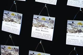 ski-lift-ticket-sun-valley-wedding-escort-cards