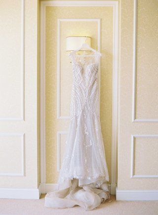 sequin-manuel-mota-second-wedding-dress-for-reception-on-hanger