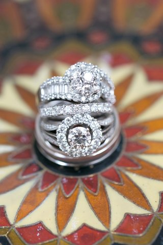 halo-diamond-ring-with-eternity-band-and-another-diamond-ring