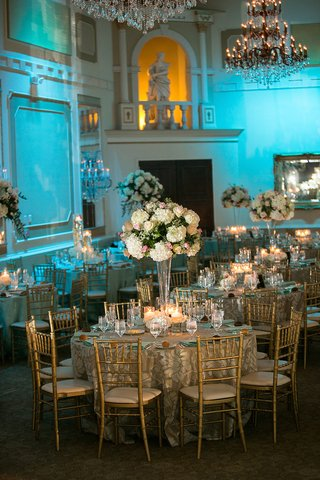 gold-chairs-and-chandeliers-under-blue-lighting